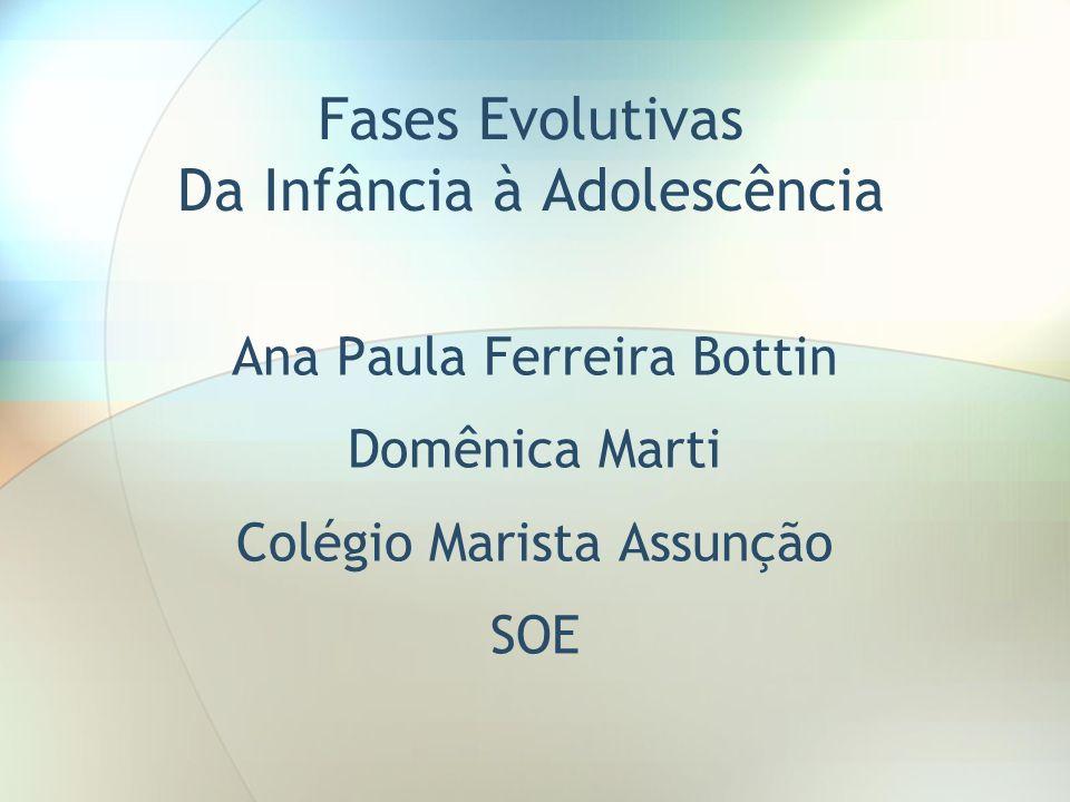 Fases Evolutivas Da Infância à Adolescência