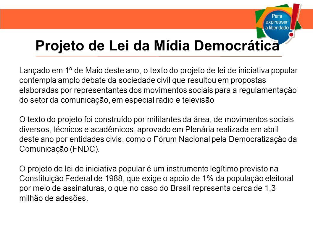 Projeto de Lei da Mídia Democrática