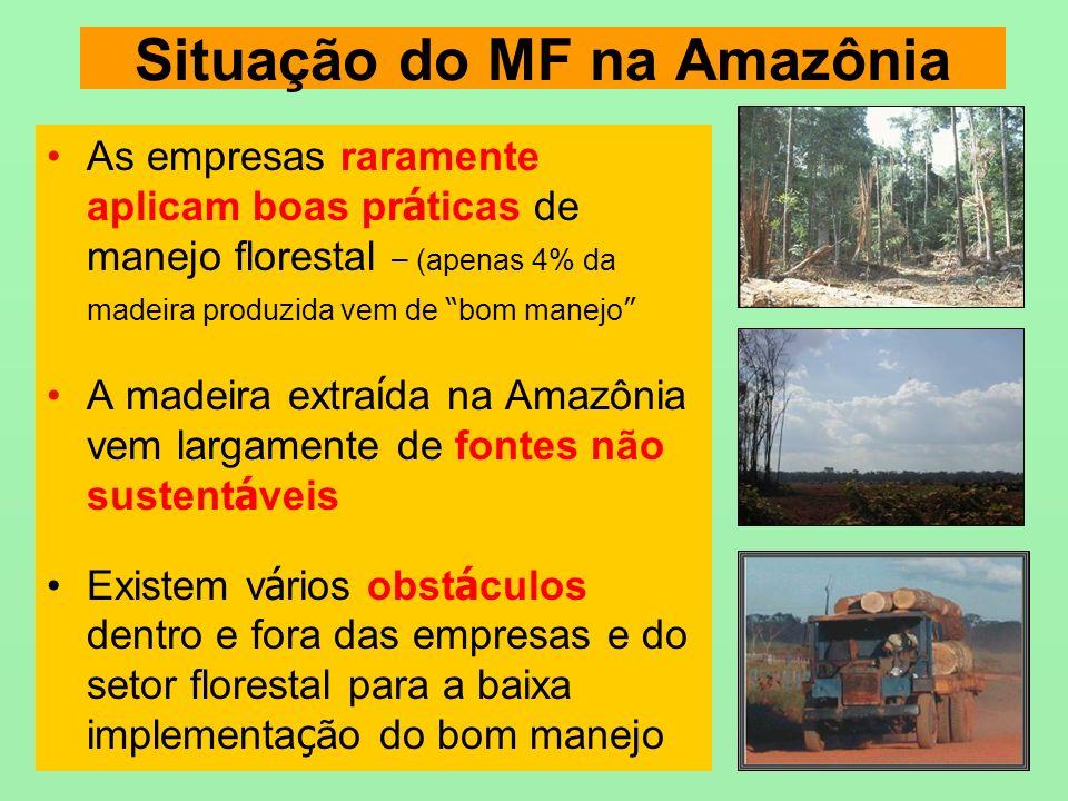 Situação do MF na Amazônia