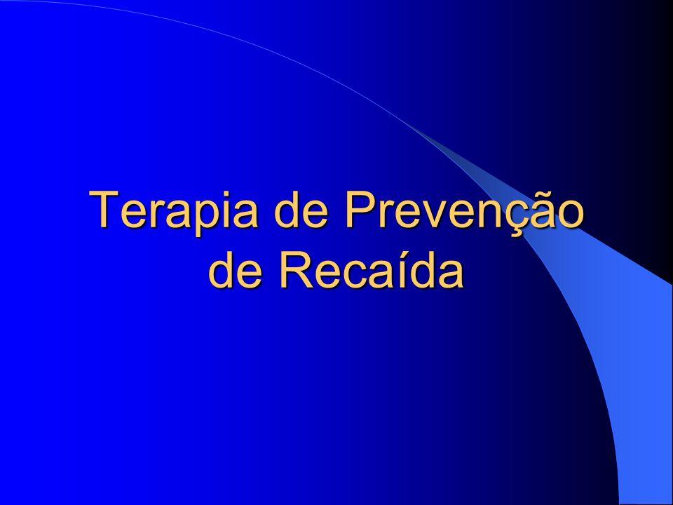Terapia de Prevenção de Recaída