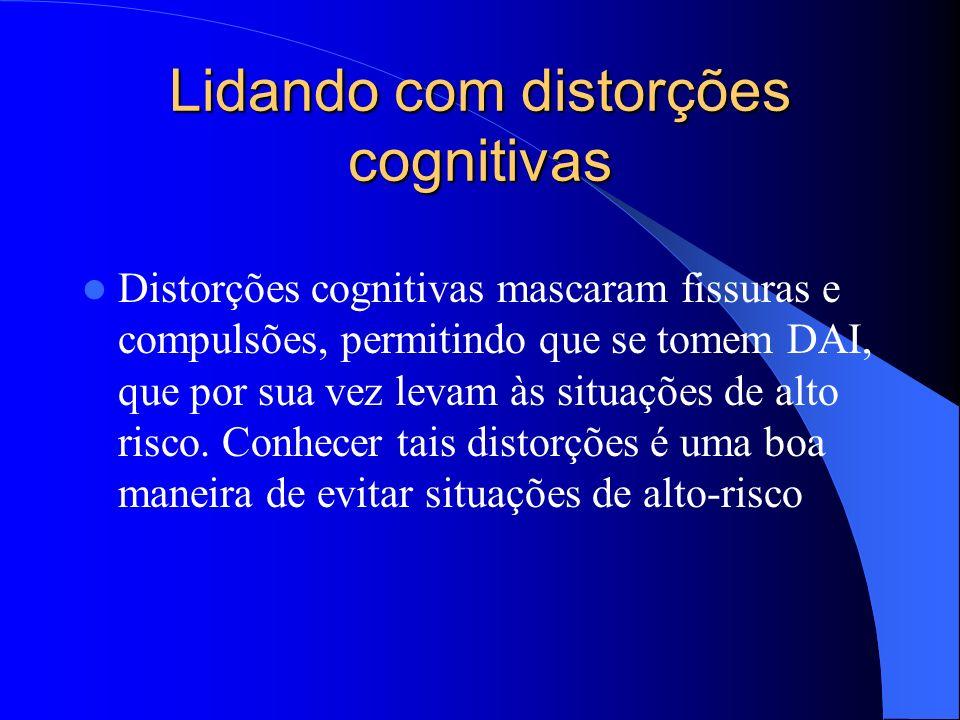 Lidando com distorções cognitivas