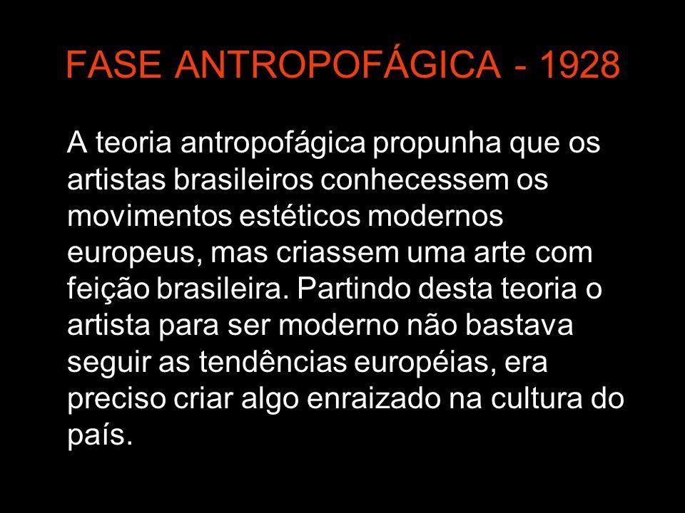 FASE ANTROPOFÁGICA - 1928