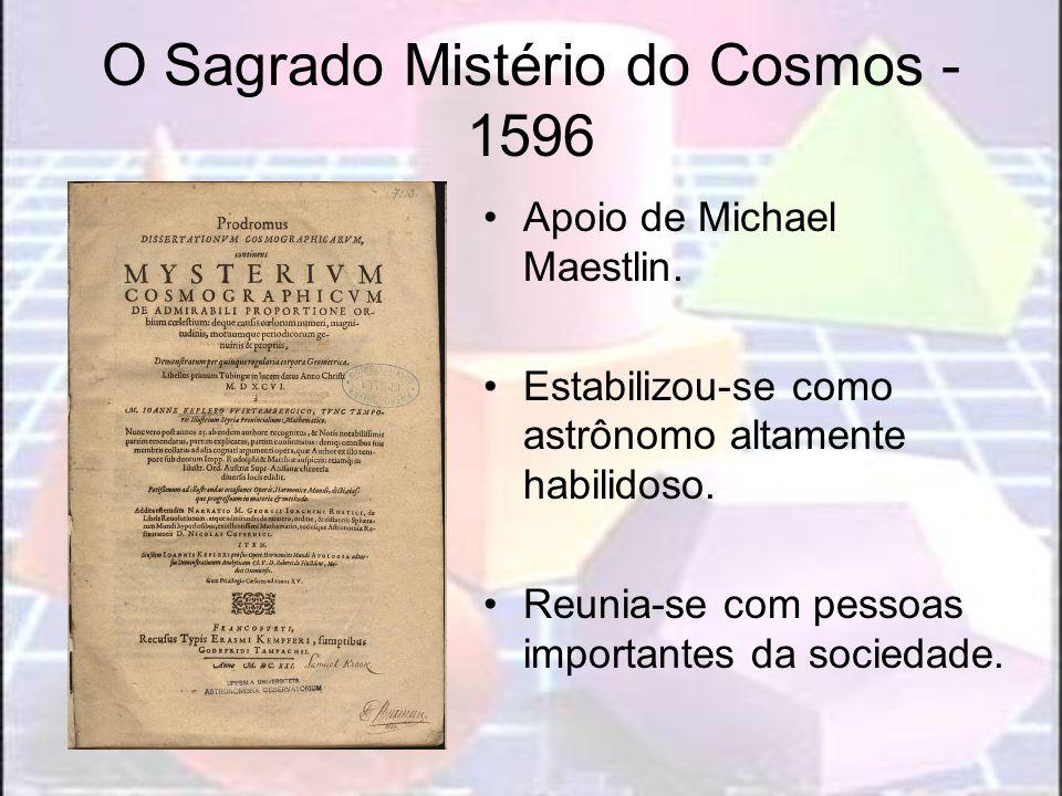 O Sagrado Mistério do Cosmos - 1596