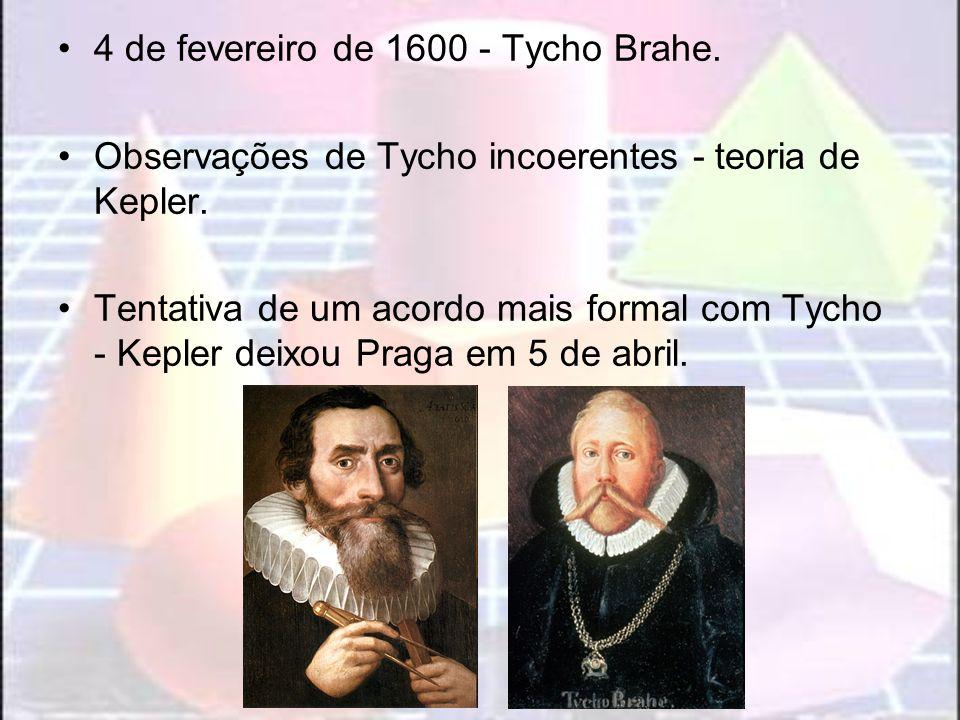 4 de fevereiro de 1600 - Tycho Brahe.