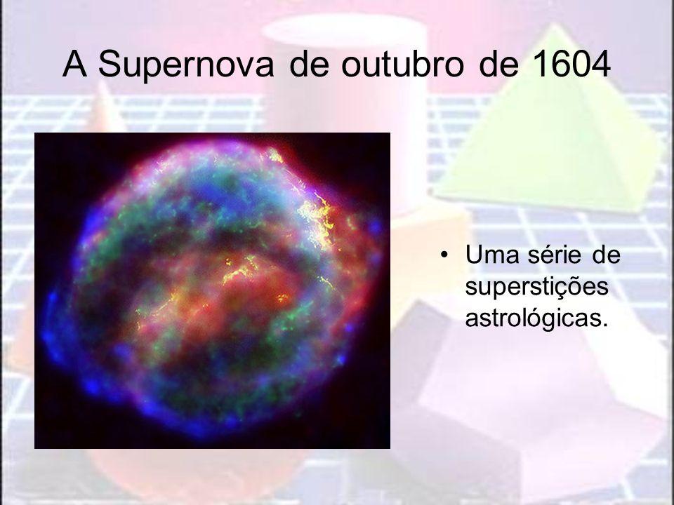 A Supernova de outubro de 1604