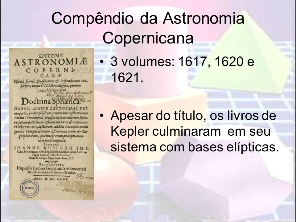 Compêndio da Astronomia Copernicana