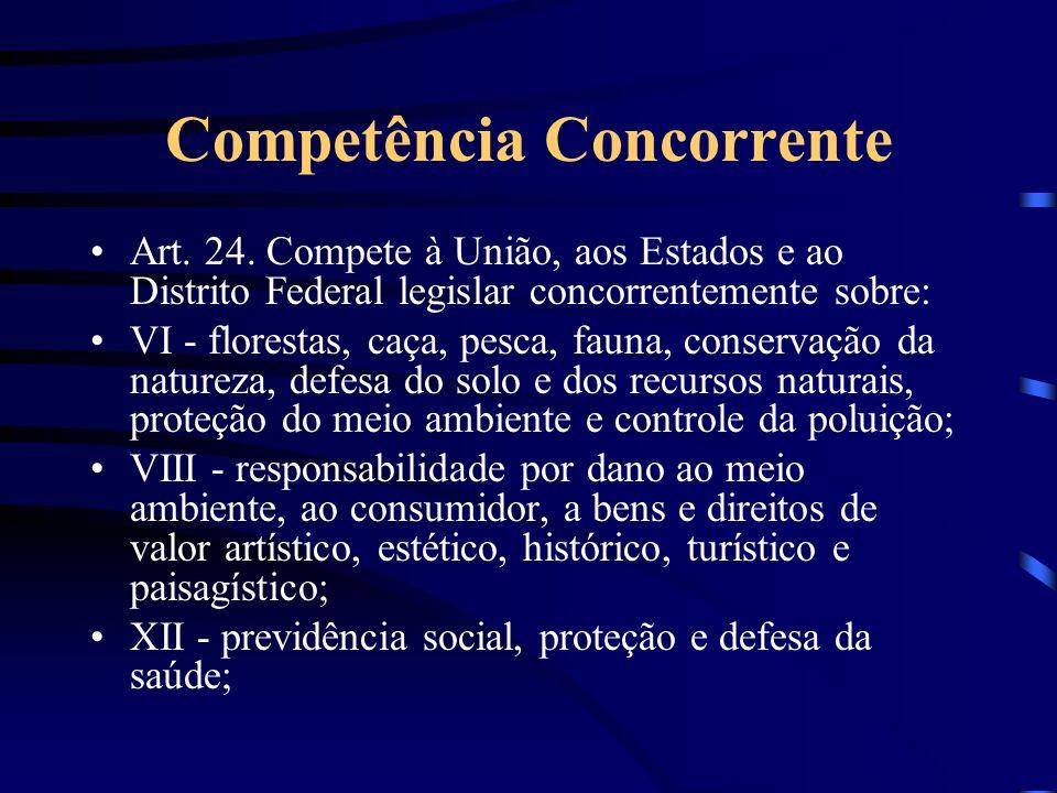 Competência Concorrente