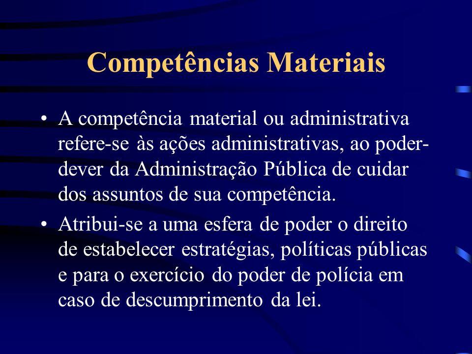 Competências Materiais