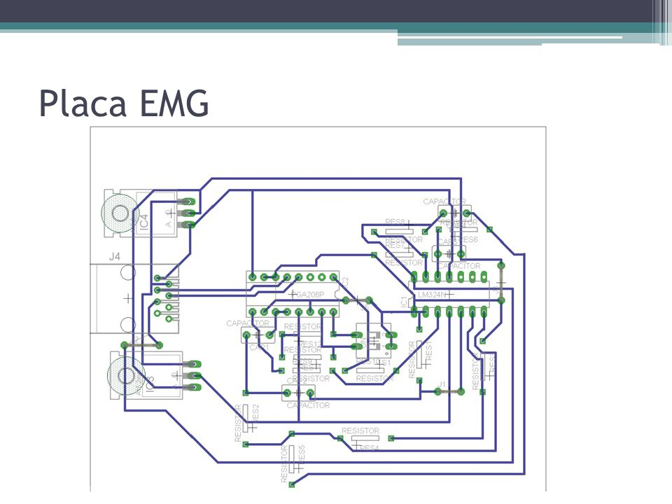 Placa EMG