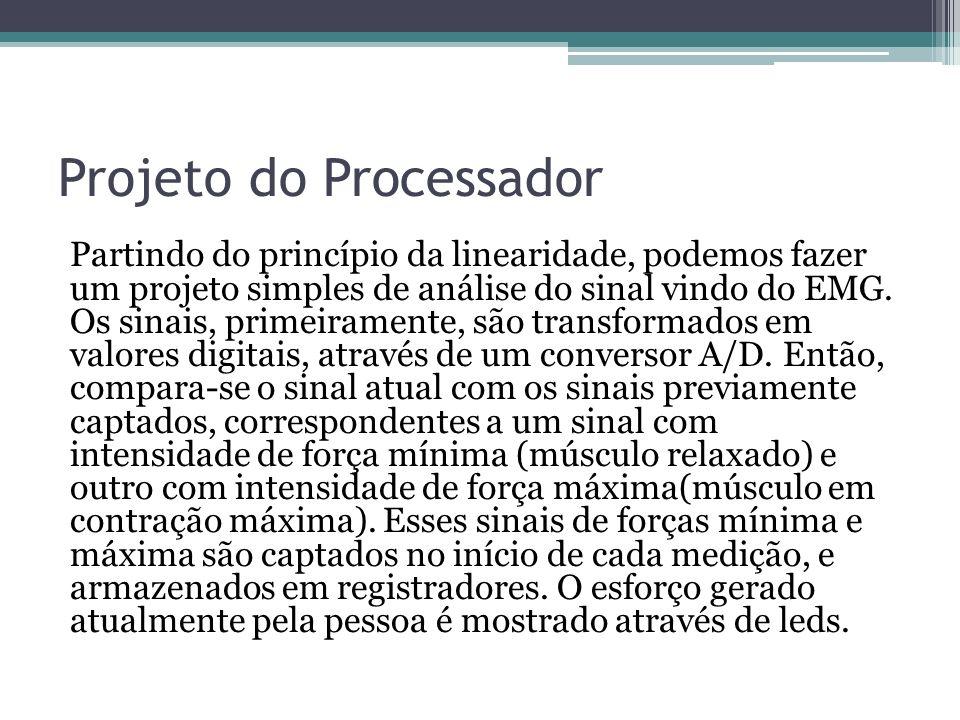 Projeto do Processador