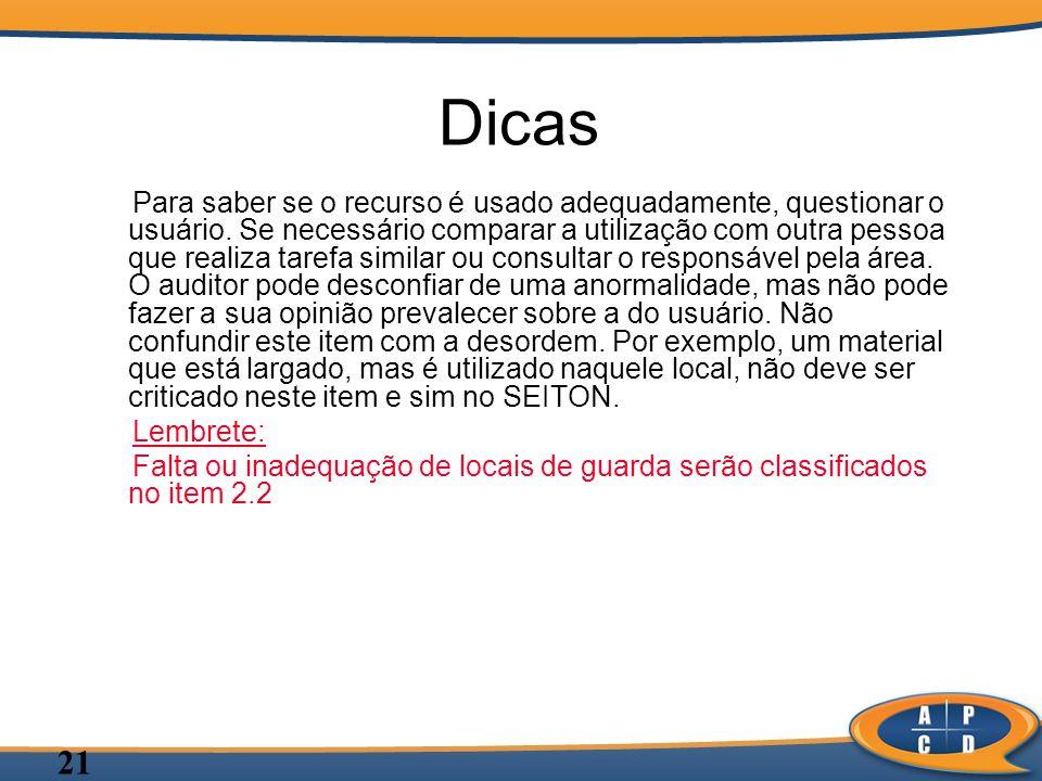 Dicas
