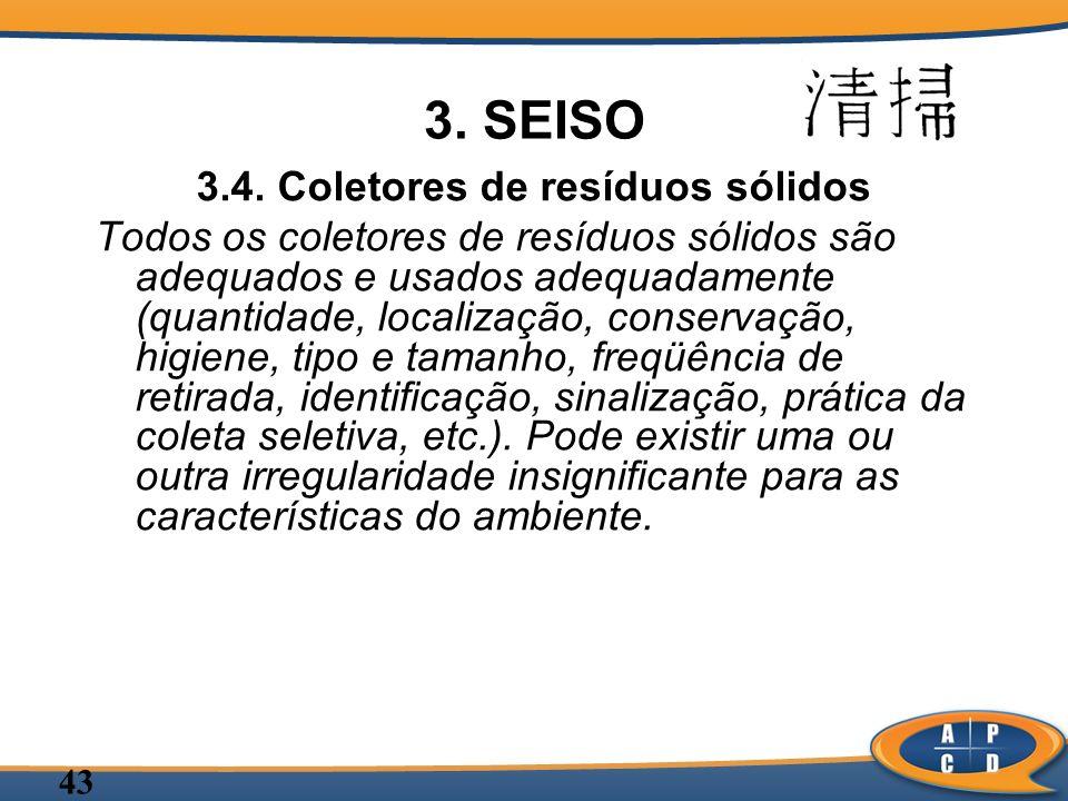 3.4. Coletores de resíduos sólidos