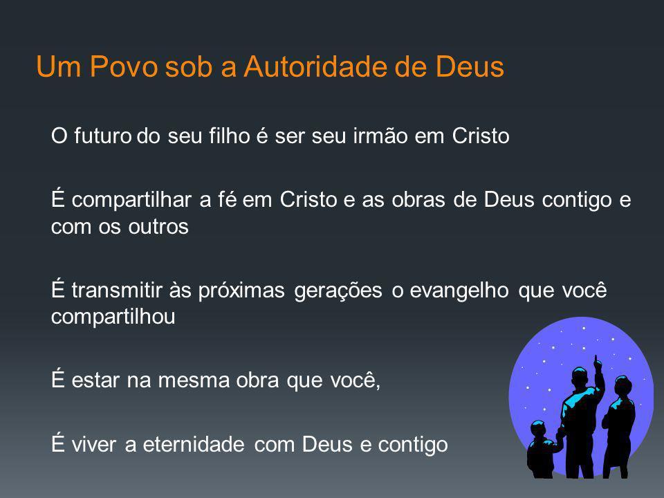 Um Povo sob a Autoridade de Deus