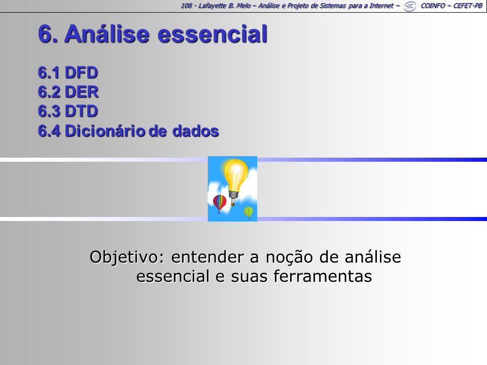 Objetivo: entender a noção de análise essencial e suas ferramentas