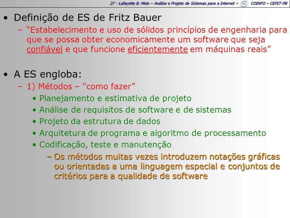 Definição de ES de Fritz Bauer