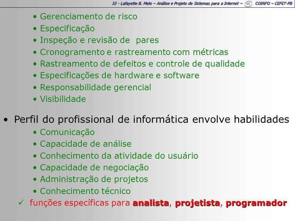 Perfil do profissional de informática envolve habilidades