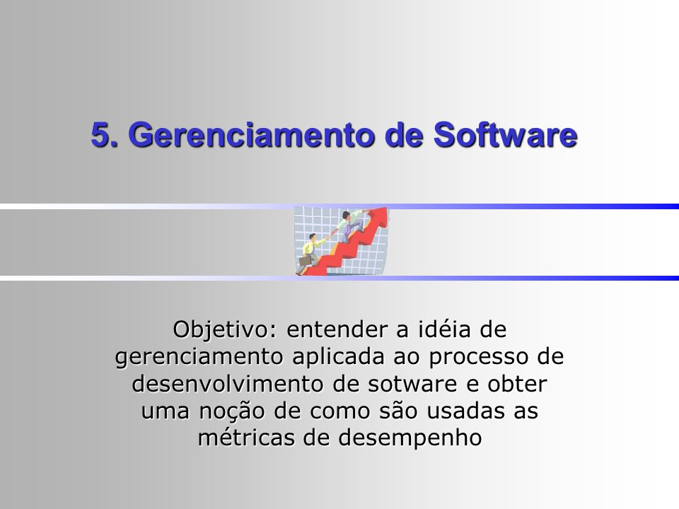 5. Gerenciamento de Software