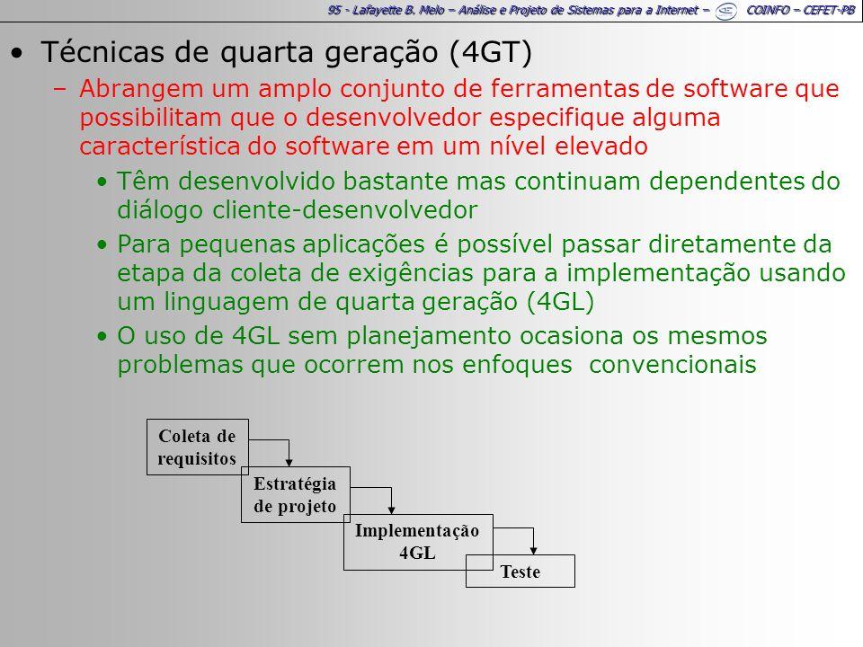 Técnicas de quarta geração (4GT)