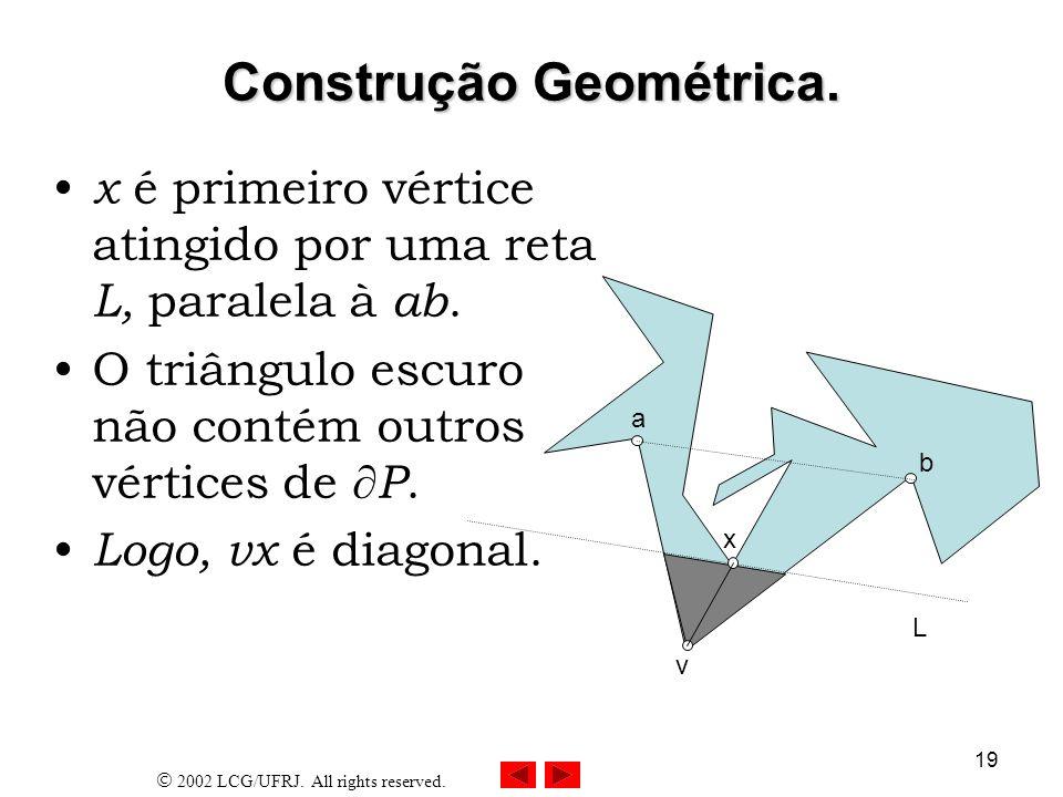 Construção Geométrica.