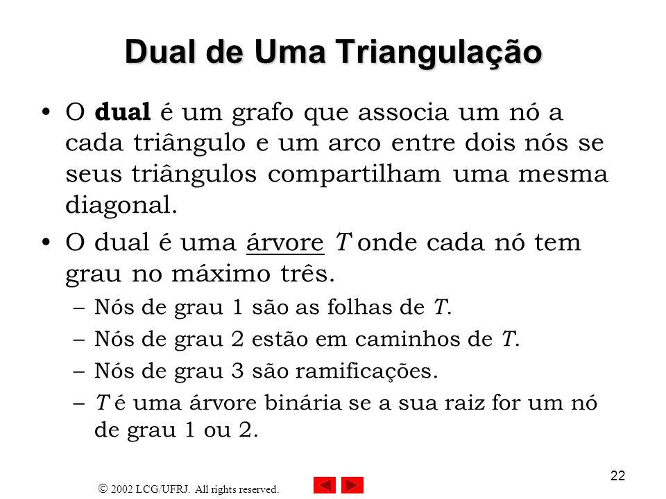 Dual de Uma Triangulação