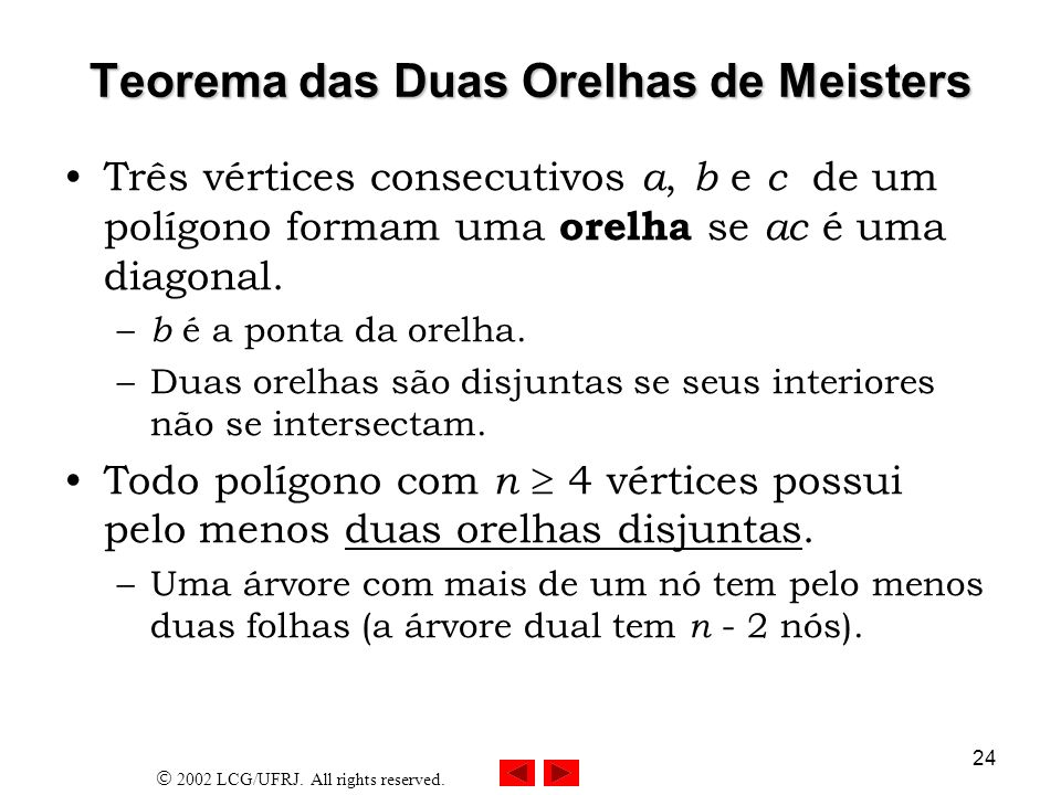 Teorema das Duas Orelhas de Meisters