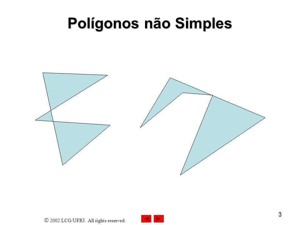 23/03/2017 Polígonos não Simples