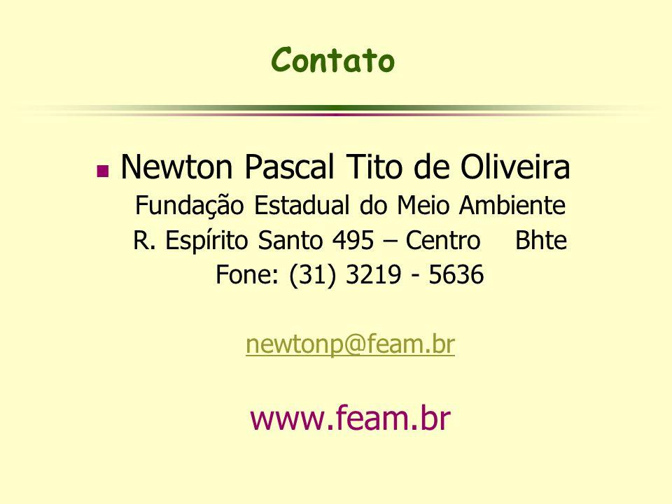 Newton Pascal Tito de Oliveira