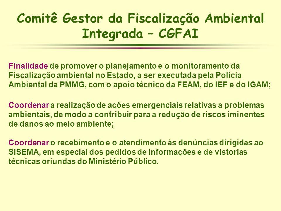 Comitê Gestor da Fiscalização Ambiental Integrada – CGFAI