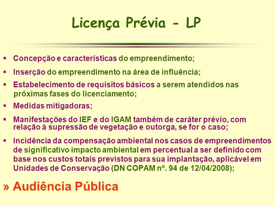 Licença Prévia - LP » Audiência Pública