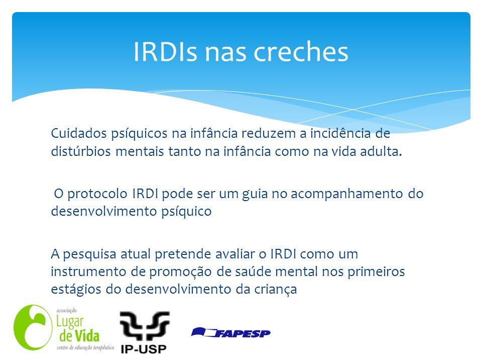 IRDIs nas creches