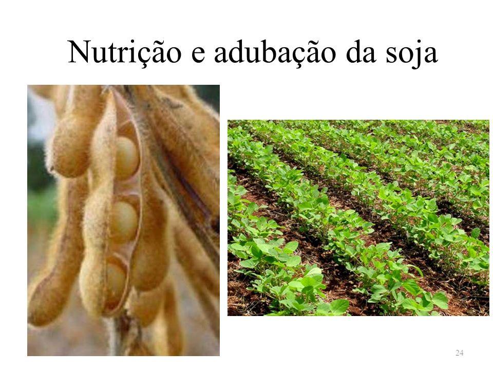 Nutrição e adubação da soja