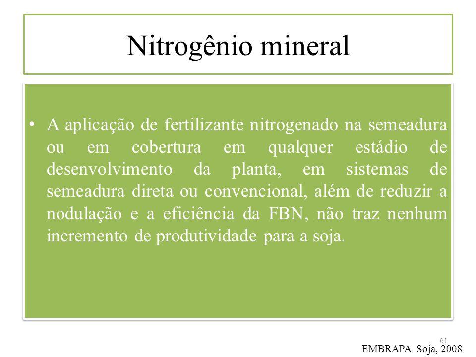 Nitrogênio mineral