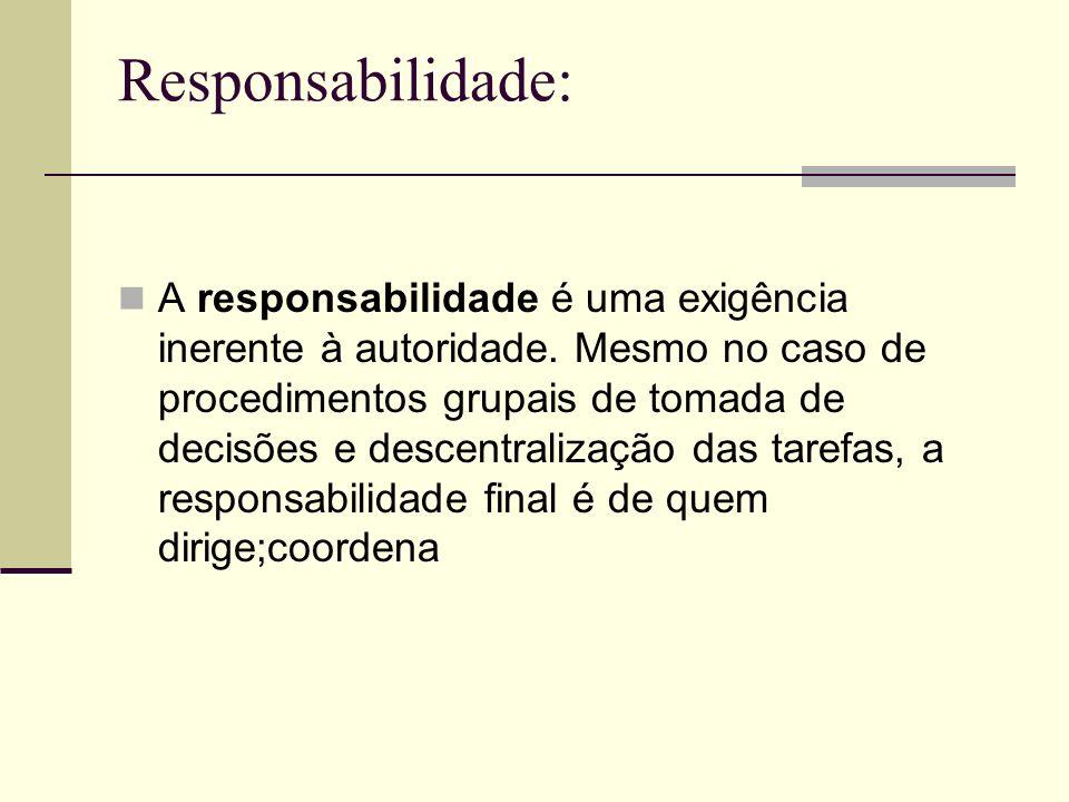 Responsabilidade: