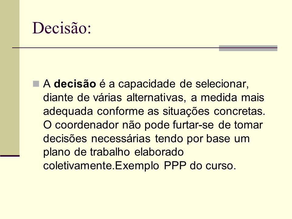 Decisão: