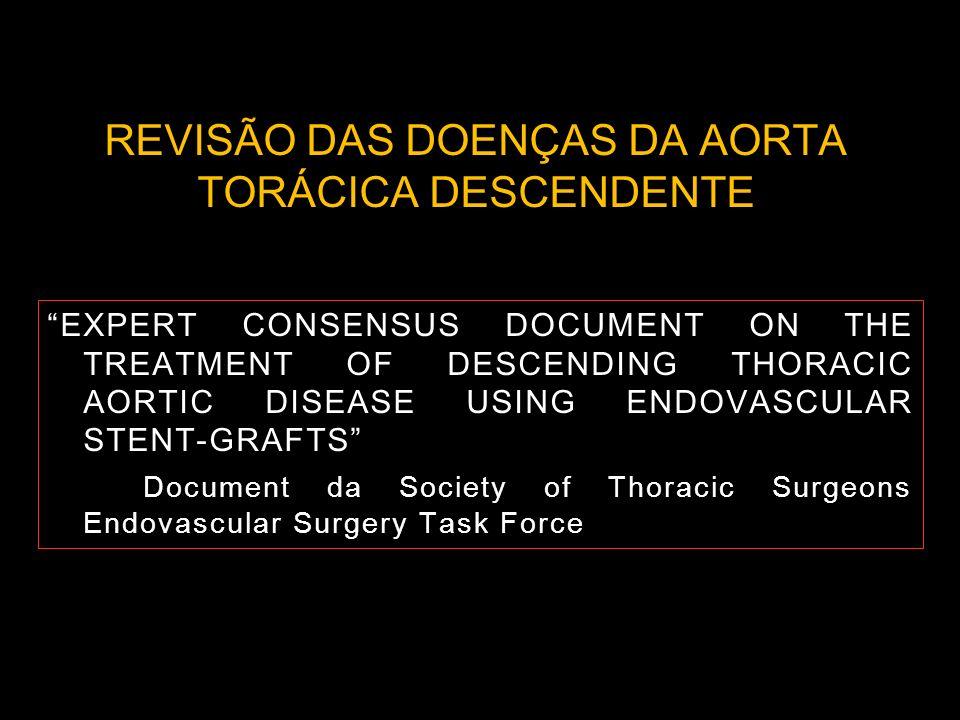REVISÃO DAS DOENÇAS DA AORTA TORÁCICA DESCENDENTE