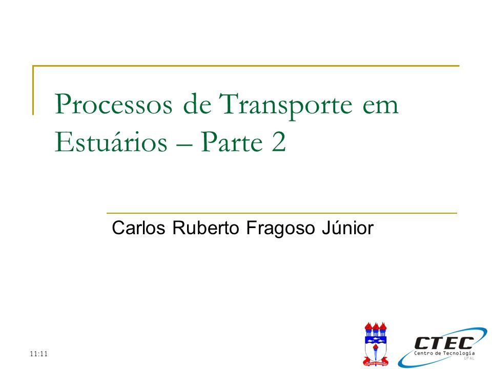 Processos de Transporte em Estuários – Parte 2