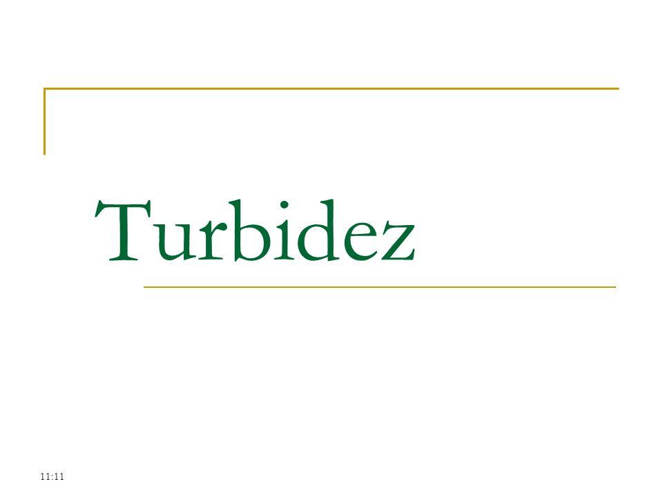 Turbidez 11:11