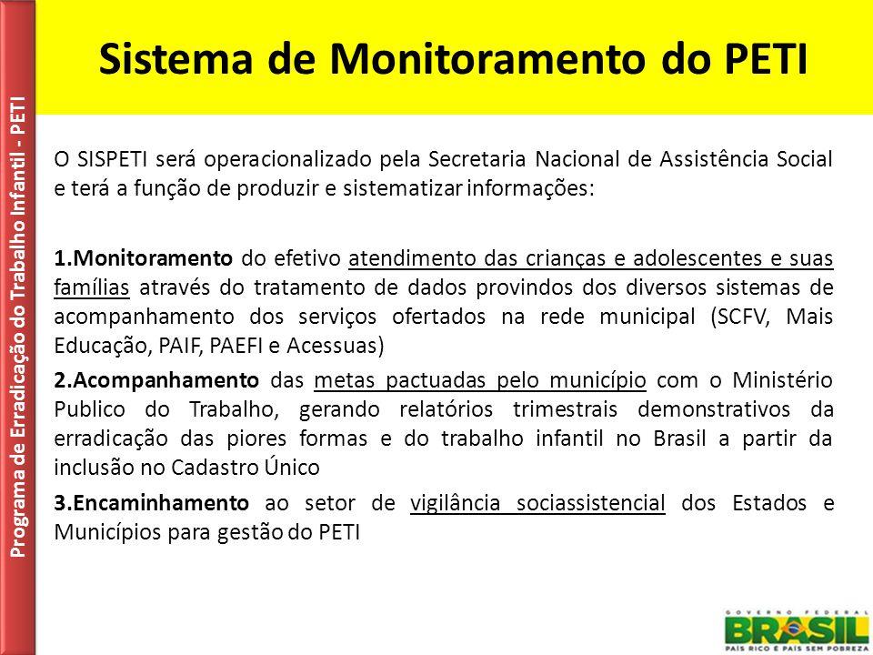 Sistema de Monitoramento do PETI