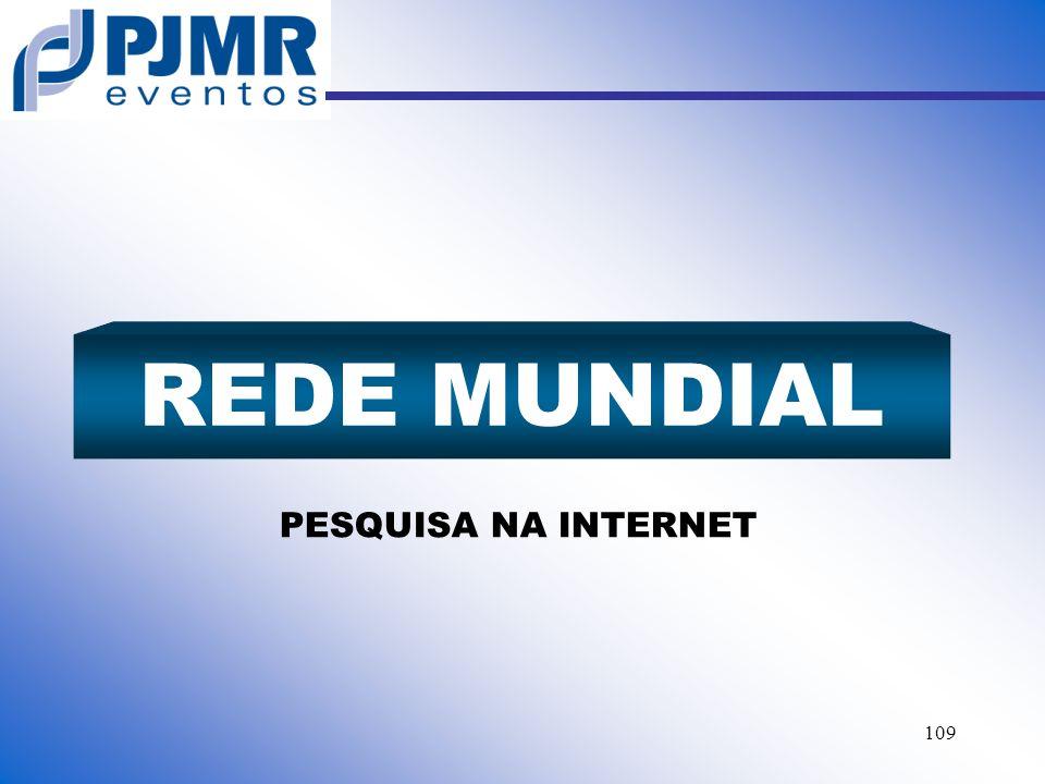 REDE MUNDIAL PESQUISA NA INTERNET