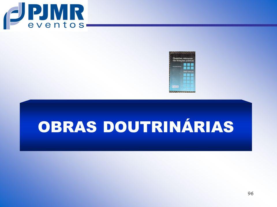 OBRAS DOUTRINÁRIAS