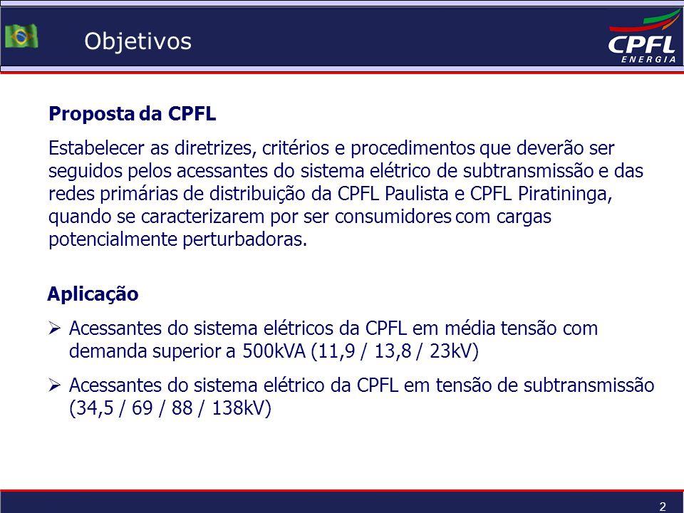 Objetivos Proposta da CPFL