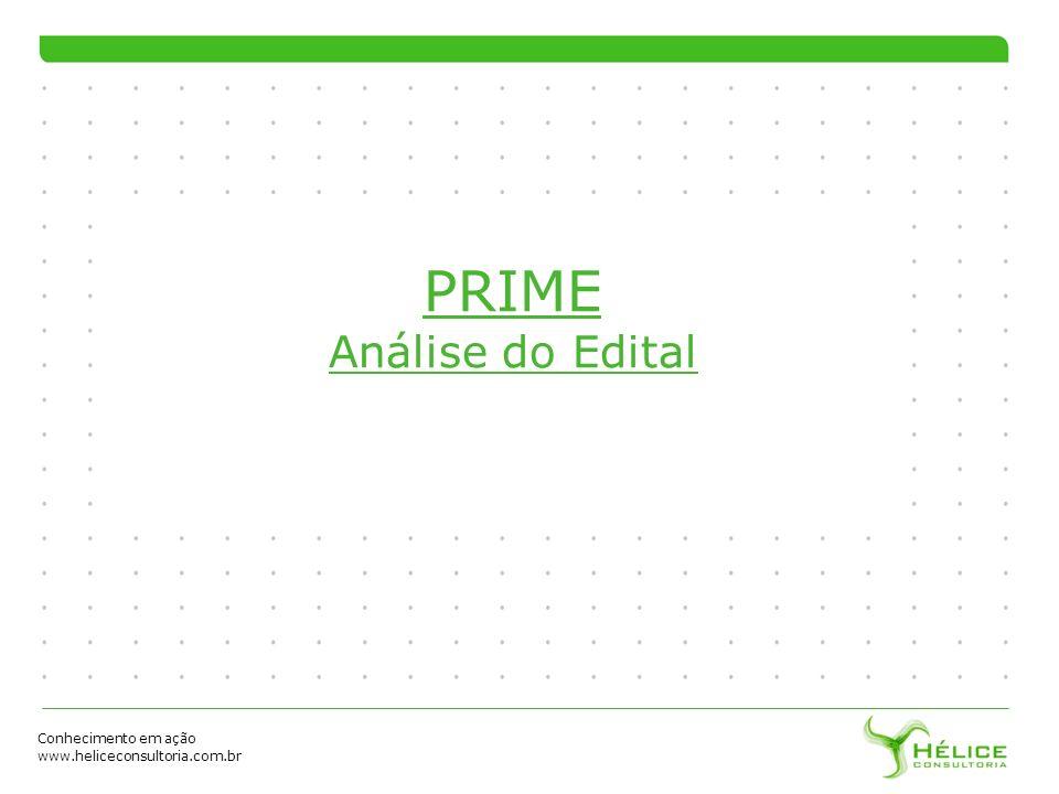PRIME Análise do Edital