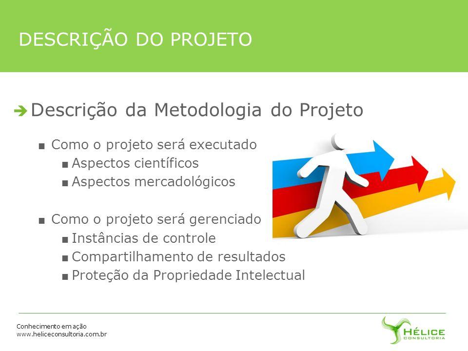 Descrição da Metodologia do Projeto