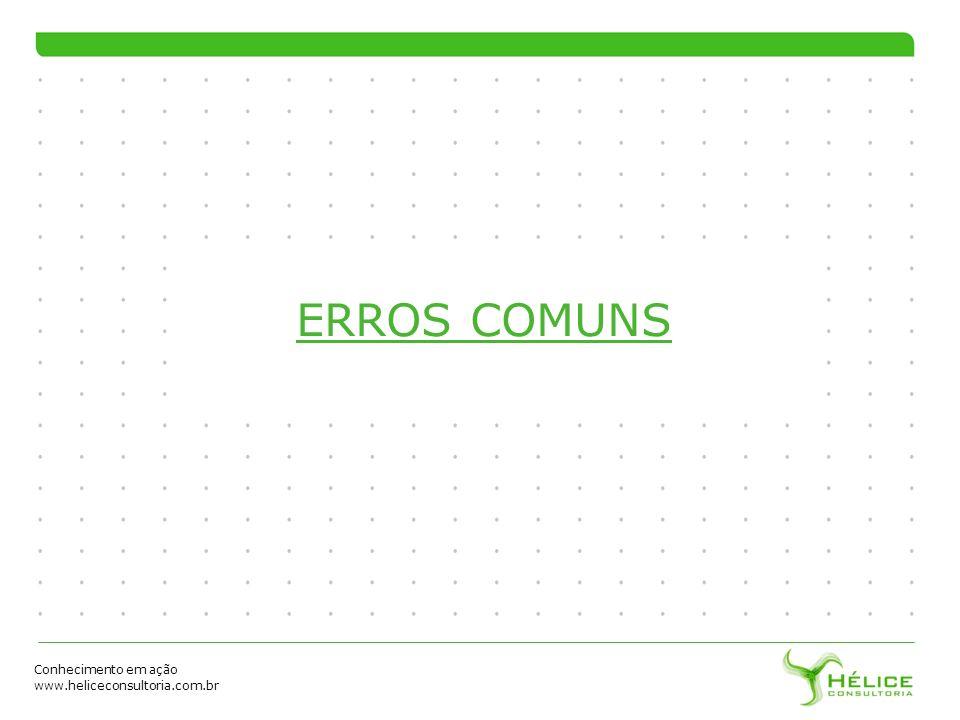 ERROS COMUNS 52