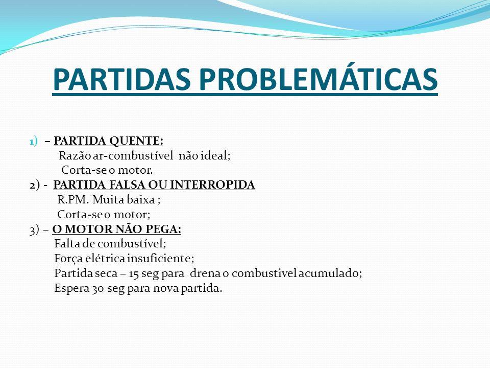 PARTIDAS PROBLEMÁTICAS