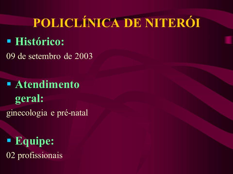 POLICLÍNICA DE NITERÓI