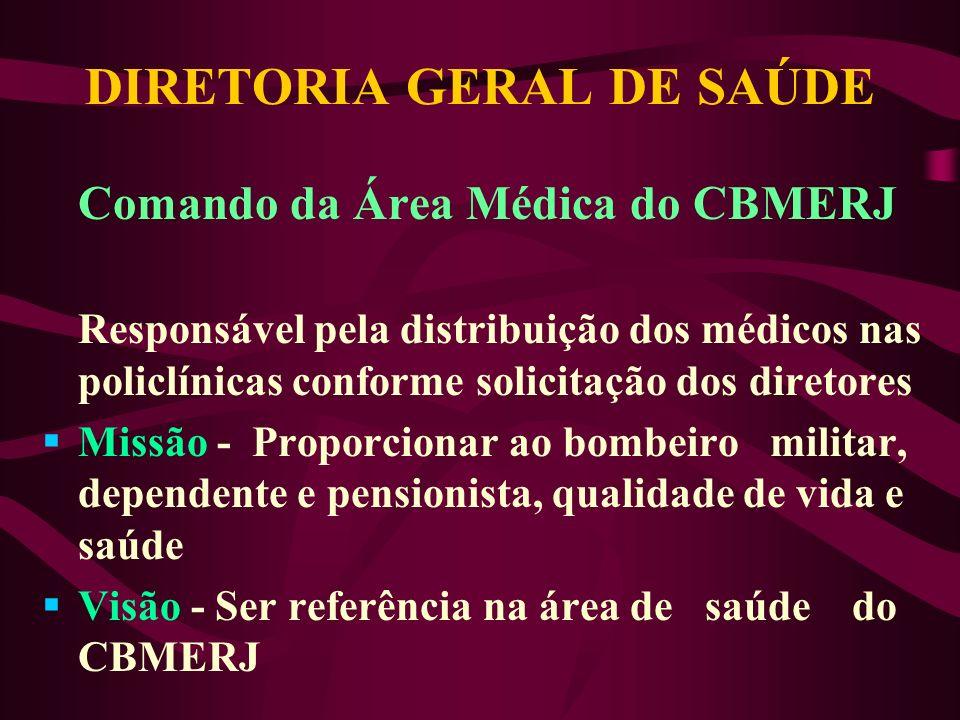 DIRETORIA GERAL DE SAÚDE