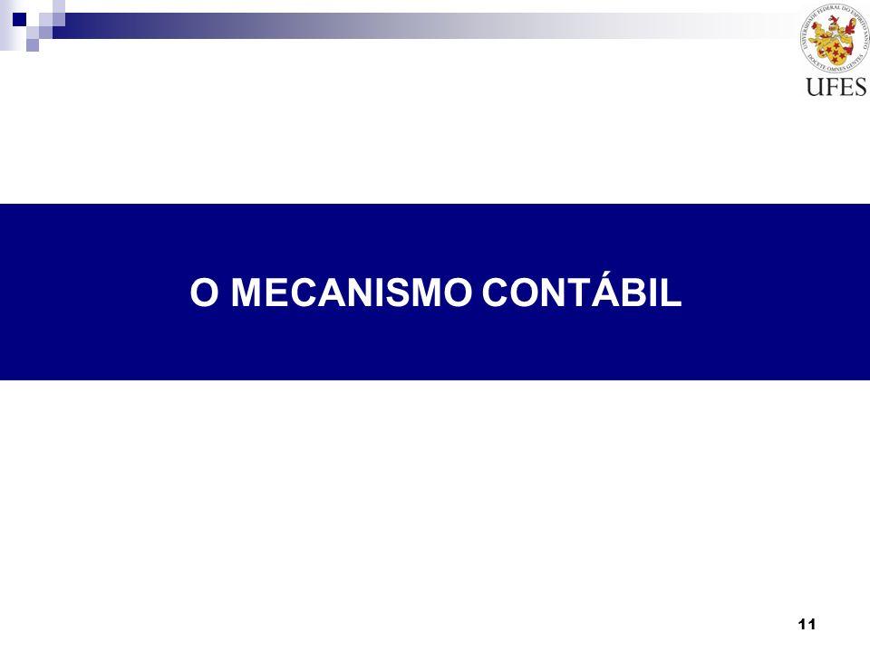 O MECANISMO CONTÁBIL
