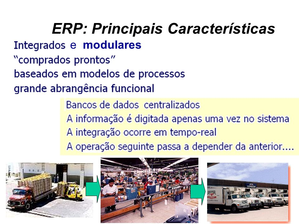 ERP: Principais Características