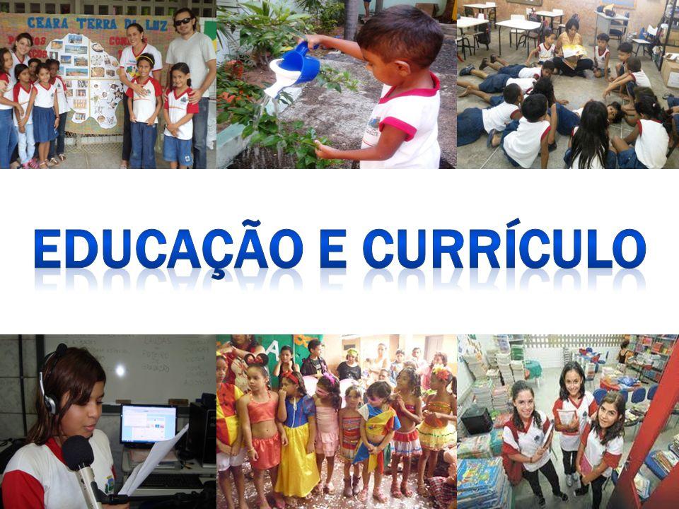 EDUCAÇÃO E CURRÍCULO